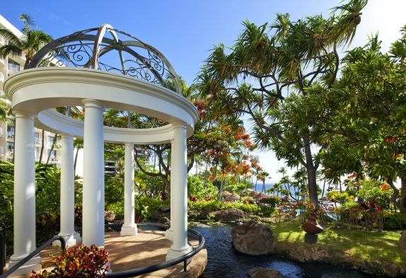Westin Maui Wedding Venue Hale Aloha Gazebo The Resort Spa